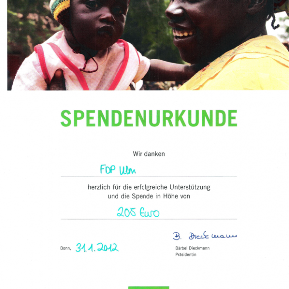 SpendeWelthungerhilfe